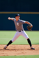 Cody Schrier (11) of JSerra Catholic High School in San Clemente, CA during the Perfect Game National Showcase at Hoover Metropolitan Stadium on June 17, 2020 in Hoover, Alabama. (Mike Janes/Four Seam Images)