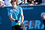 28 FEBRUARY Enests Gulbis defeats 2nd seed Ivo karlovic is straight sets at the ATP World Tour Final in Delray Beach 6-3, 6-2. the hard serving Croatian had 17 aces but was unable to over power the 21 year old Latvian. It was Kalovic's 31st birthday and his surprise was the defeat at the hands of young Gulbis