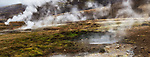 Steaming ground at Geysir
