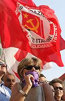 Roma 01/07/2010 Manifestazione indetta dalla FNSI federazione della stampa contro il DDL sulle intercettazioni che approdera' in Senato il 29 liglio.<br /> Demonstration against the law about wiretapping regulamentation organized by the Italian Press Association<br /> Photo Samantha Zucchi Insidefoto