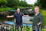 Whats the story? KIllarney Jarvey Michael Sweetman right and boatman Donal O'Donoghue want to know what are the reopening plans for the National Park