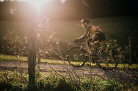 early morning gravel riding in the Eifel National Park / High Venn Nature Park in North Rhine-Westphalia, Germany<br /> <br /> over the Dirty Boar Gravel Ride parcours