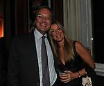 ERNESTO MOCCI E GLORIA PORCELLA<br /> PREMIO GUIDO CARLI - QUARTA EDIZIONE<br /> RICEVIMENTO HOTEL MAJESTIC ROMA 2013