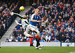 Kenny Miller foiled by keeper Robbie Thomson