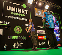 12th March 2020; M and S Bank Arena, Liverpool, Merseyside, England; Professional Darts Corporation, Unibet Premier League Liverpool; Glen Durrant during his night six match against Daryl Gurney