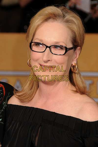 18 January 2014 - Los Angeles, California - Meryl Streep. 20th Annual Screen Actors Guild Awards - Arrivals held at The Shrine Auditorium. Photo Credit: Byron Purvis/AdMedia<br /> CAP/ADM/BP<br /> ©Byron Purvis/AdMedia/Capital Pictures