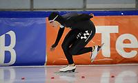 SCHAATSEN: HEERENVEEN: 10-10-2020, KNSB Trainingswedstrijd, Jutta Leerdam, ©foto Martin de Jong