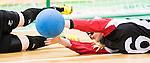Jillian McSween, Rio 2016 - Goalball. <br /> Team Canada competes in Women's Goalball preliminary against China // Équipe Canada participe aux préliminaires du goalball féminin contre la Chine. 12/09/2016.