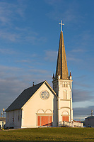 Historic church in downtown, Nome, Alaska.