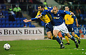 20/12/03          Copyright Pic : James Stewart.File Name : stewart07-stjohn_v_qos.MIXU PAATELAINEN IS HELD BACK BY JAMES THOMSON....... .Payment should be made to :-.James Stewart Photo Agency, 19 Carronlea Drive, Falkirk. FK2 8DN      Vat Reg No. 607 6932 25.Office     : +44 (0)1324 570906     .Mobile  : +44 (0)7721 416997.Fax         :  +44 (0)1324 570906.E-mail  :  jim@jspa.co.uk.If you require further information then contact Jim Stewart on any of the numbers above.........