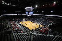 Dec. 17, 2010; Charlottesville, VA, USA; The Virginia Cavaliers host the Oregon Ducks at the John Paul Jones Arena. Mandatory Credit: Andrew Shurtleff