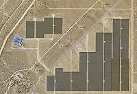 aerial photo map of Solar Star, Rosamond, Kern County, California