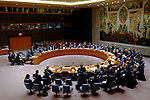 Security Council Meeting about security situation in Mali at U.N.