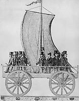 Sailing on the Railroad, 1829-1830