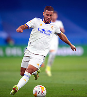 12th September 2021; Estadio Santiago Bernabeu, Madrid, Spain; La Liga, Real Madrid CF versus RC Celta de Vigo; Eden Hazard controls the ball