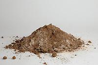 Sandy soil sample
