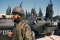 - NATO intervention in Bosnia Herzegovina, Romanian soldiers in Mostar (March 1998)<br />