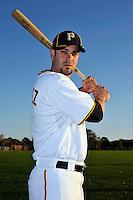 Feb 28, 2010; Bradenton, FL, USA; Pittsburgh Pirates  infielder Ramon Vazquez (5) during  photoday at Pirate City. Mandatory Credit: Tomasso De Rosa/ Four Seam Images