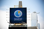 A billboard encouraging people to invest is displayed in Times Square in New York on Wednesday, April 14, 2021. Photographer: Michael Nagle