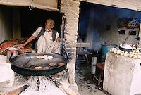Afghan restaurant next to a refugee camp in Peshawar, Pakistan