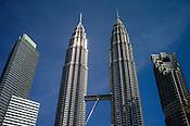 The Petronas Twin Towers ( KLCC) in Kuala Lumpur, Malaysia. Photo: Sanjit Das/Panos
