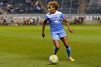 Chicago, IL - Saturday July 30, 2016: Casey Short during a regular season National Women's Soccer League (NWSL) match between the Chicago Red Stars and FC Kansas City at Toyota Park.