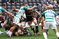 Sunday 19 October 2014<br /> Pictured: Ospreys prop Dimitri Arhip in action.<br /> Re: Ospreys v Treviso, Heineken Champions Cup at the Liberty Stadium, Swansea
