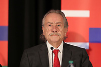 Toronto, Ontario - Saturday December 09, 2017: Mexican Football Federation President Decio de Maria. The United Bid for 2026 FIFA World Cup Presentation to Media was held at the Westin Harbour Castle - Harbour Ballroom.