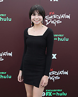 """TULSA, OK - AUGUST 2: Elva Guerra attends the Red Carpet Event for the Series Premiere of FX's """"Reservation Dogs"""" at Circle Cinema on August 2, 2021 in Tulsa, Oklahoma. (Photo by Tom Gilbert/FX/PictureGroup)"""