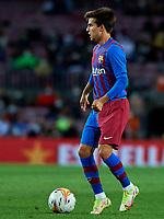 20th September 2021; Nou Camp, Barcelona, Spain; La Liga football league, FC Barcelona versus Granada CF;  Riqui Puig of FC Barcelona during the Liga match between FC Barcelona and Granada CF .