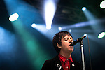 © Joel Goodman - 07973 332324 . 11/07/2015 . Manchester , UK . Johnny Marr performs . Summer in the City festival at Castlefield Arena . Photo credit : Joel Goodman