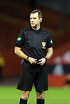 Aberdeen v St Johnstone…26.12.20   Pittodrie      SPFL<br />Referee Alan Muir<br />Picture by Graeme Hart.<br />Copyright Perthshire Picture Agency<br />Tel: 01738 623350  Mobile: 07990 594431