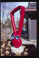 Sculpture, Port Townsend, Olympic Peninsula, Washington, US