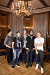 """Kevin Richardson, Howie Dorough, Nick Carter,  AJ McLean and Brian Littrell of the Backstreet Boys attend their new music album """"In A World Like This"""" presentation at Palace Hotel on November 12, 2013 in Madrid, Spain. (ALTERPHOTOS/Victor Blanco)"""
