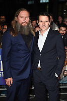 """David and Alastair MacKenzie<br /> arriving for the London Film Festival screening of """"Outlaw King"""" at the Cineworld Leicester Square, London<br /> <br /> ©Ash Knotek  D3446  17/10/2018"""
