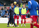 Ross County v St Johnstone…31.07.21  Global Energy Stadium<br />Saints boss Callum Davidson<br />Picture by Graeme Hart.<br />Copyright Perthshire Picture Agency<br />Tel: 01738 623350  Mobile: 07990 594431