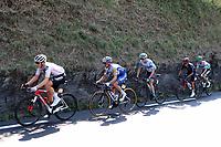 16th September 2020; Grenoble, France; Tour De France 2020, Grenoble to Meribel, stage 17; Soren Kragh Andersen Denmark Team Sunweb and Julian Alaphilippe France Deceuninck - Quick - Step and Daniel Martin Ireland Israel Start-Up Nation