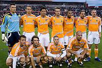 Houston Dynamo starting XI.  Houston Dynamo defeated CD Chivas USA 1-0 at Robertson Stadium in Houston, TX on April 14, 2007.