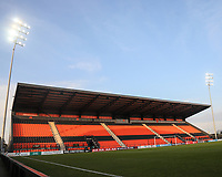 An empty stand during Tottenham Hotspur Women vs Reading FC Women, Barclays FA Women's Super League Football at the Hive Stadium on 7th November 2020