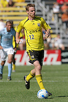 Columbus Crew midfielder (12) Eddie Gaven. Columbus Crew and Colorado Rapids played to a 1-1 tie at Crew Stadium, Columbus, Ohio. Sunday September 2 2007