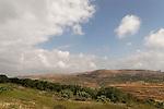 Samaria, a view of the western ridge of Mount Gerizim