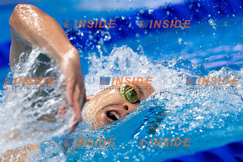 DERKOSKI Filip MKD<br /> 200m Freestyle Men Heats<br /> Swimming<br /> Budapest  - Hungary  20/5/2021<br /> Duna Arena<br /> XXXV LEN European Aquatic Championships<br /> Photo Giorgio Scala / Deepbluemedia / Insidefoto