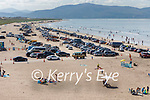 The large crowd gathering on the beach in Inch at 11am on Sunday