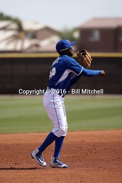 Orlando Calixte - Kansas City Royals 2016 spring training (Bill Mitchell)