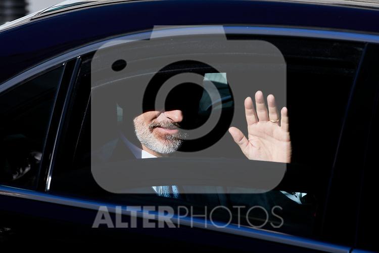 King Felipe VI of Spain attends to 40 Anniversary of Spanish Constitution at Congreso de los Diputados in Madrid, Spain. December 06, 2018. (ALTERPHOTOS/A. Perez Meca)