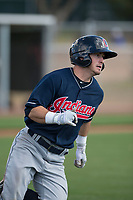Cleveland Indians third baseman Tyler Friis (27) during a Minor League Spring Training game against the San Francisco Giants at the San Francisco Giants Training Complex on March 14, 2018 in Scottsdale, Arizona. (Zachary Lucy/Four Seam Images)