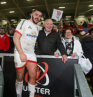 Saturday 7th December 2019 | Ulster Rugby vs Harlequins<br /> <br /> Adam McBurney after the Heineken Champions Cup Round 3 clash in Pool 3, between Ulster Rugby and Harlequins at Kingspan Stadium, Ravenhill Park, Belfast, Northern Ireland. Photo by John Dickson / DICKSONDIGITAL