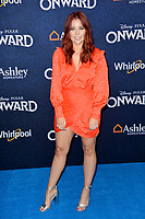 """LOS ANGELES, CA: 18, 2020: Erin Robinson at the world premiere of """"Onward"""" at the El Capitan Theatre.<br /> Picture: Paul Smith/Featureflash"""