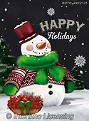 Alfredo, CHRISTMAS SANTA, SNOWMAN, WEIHNACHTSMÄNNER, SCHNEEMÄNNER, PAPÁ NOEL, MUÑECOS DE NIEVE, paintings+++++,BRTOXX12335,#x#