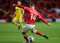 Conor Washington scores Charlton's opening goal during Charlton Athletic vs AFC Wimbledon, Sky Bet EFL League 1 Football at The Valley on 12th December 2020
